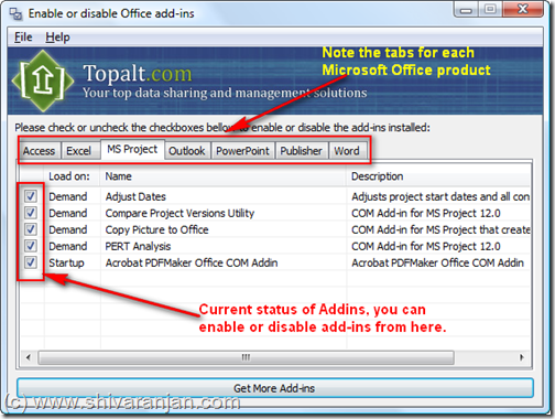 enable-disable-microsoft-office-addins