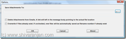 Outlook 2007: Save All Attachments and Remove Them From