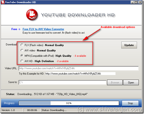 YouTube_HD_downloader