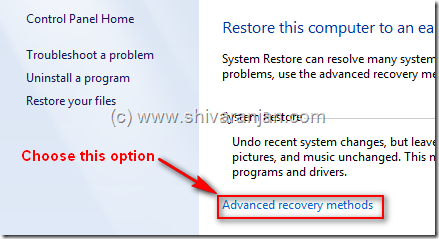 windows7recoversystemimage02 thumb Windows 7: Restore System Image BackUp In case of System or Boot Failure