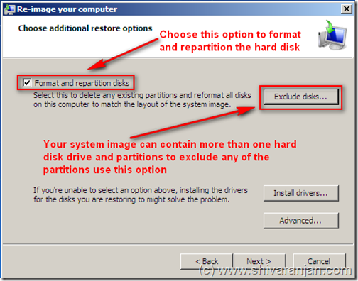 windows7recoversystemimage09 Windows 7: Restore System Image BackUp In case of System or Boot Failure