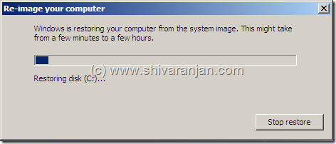 windows7recoversystemimage13 thumb Windows 7: Restore System Image BackUp In case of System or Boot Failure
