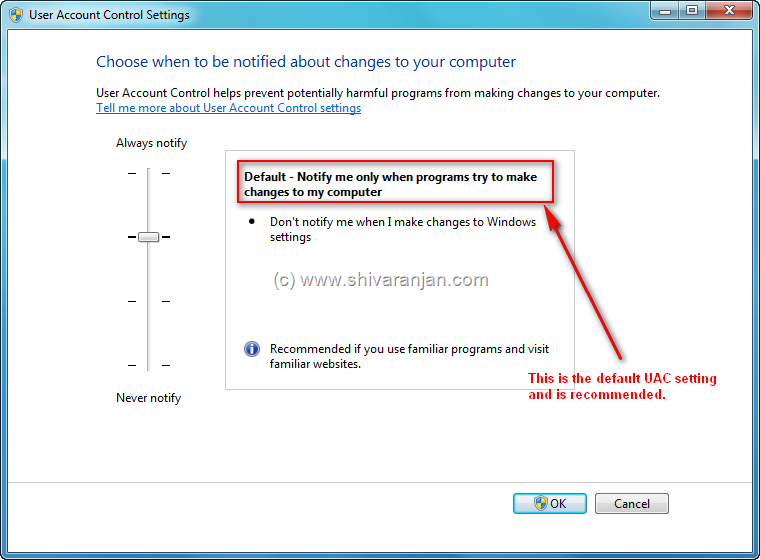 how to set admin privileges in windows 7